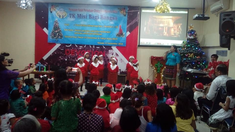 Perayaan Natal TK MBB Rawa Kalong