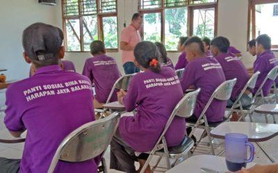 Pelayanan Ibadah Natal Di Panti Sosial Bina Karya Balaraja