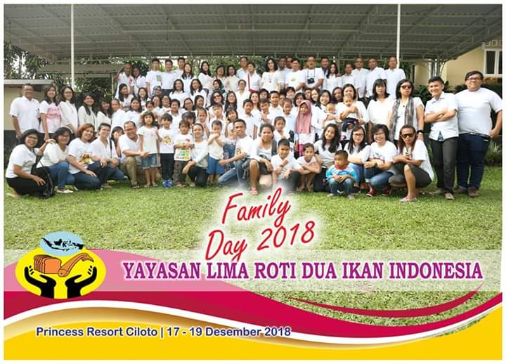Family Day Yayasan Lima Roti Dua Ikan Indonesia Di Princess Resort Ciloto – Puncak