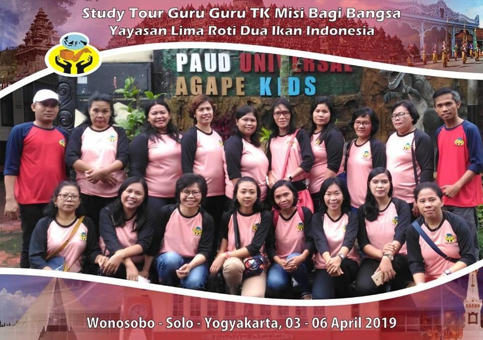 Studi Tour Guru TK MBB Di Wonosobo