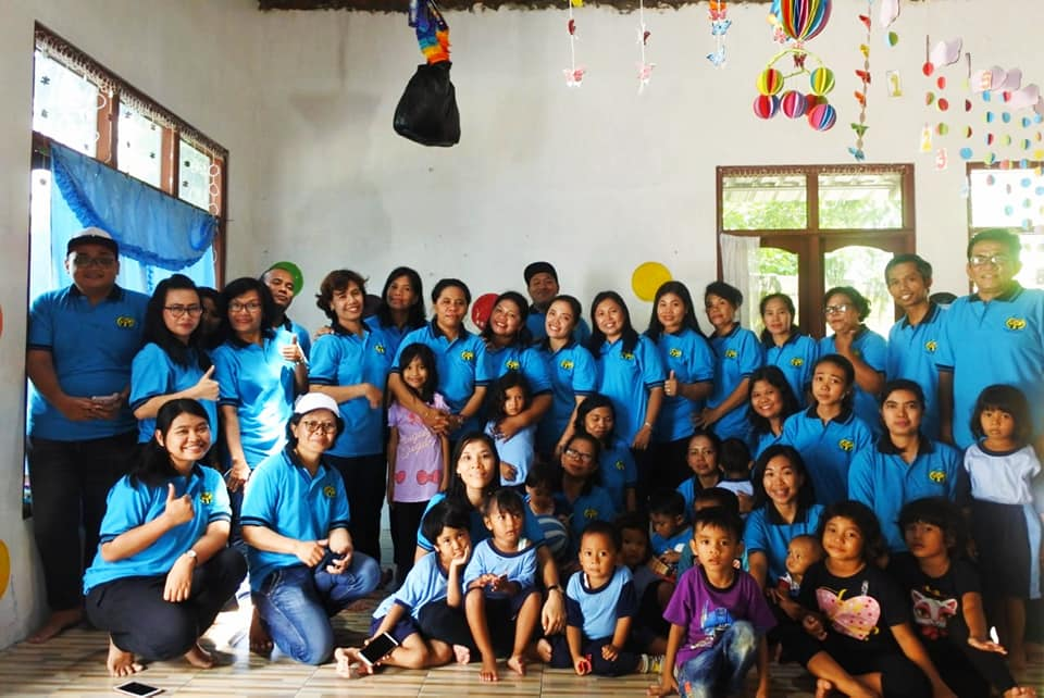 Kebersamaan Guru MBB Misi Bangsa & Paud Indonesia Bersyukur Di Solo
