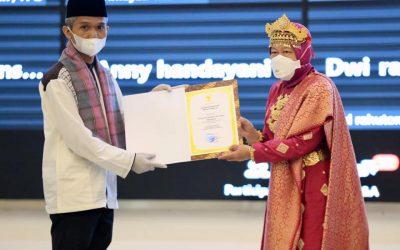 Penghargaan Menteri Sosial Untuk LKS Teladan